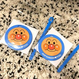 アンパンマン(アンパンマン)の神戸アンパンマンミュージアム 限定ネームタグ2枚(キャラクターグッズ)
