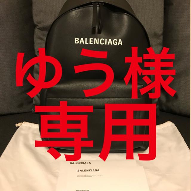 BALENCIAGA BAG(バレンシアガバッグ)のゆう様 専用 BALENCIAGA バレンシアガ バックパック メンズのバッグ(バッグパック/リュック)の商品写真