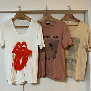 ラッドミュージシャン(LAD MUSICIAN)のLAD MUSICIAN カットソー三種セット(Tシャツ/カットソー(半袖/袖なし))