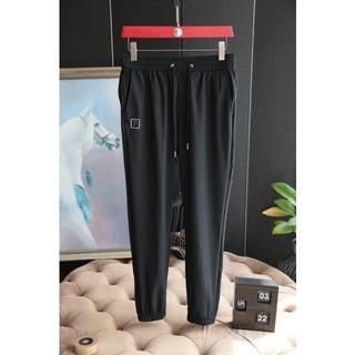 フェンディ(FENDI)のFENDI  フェンディ サルエルパンツ メンズ ブラック M-XXXLサイズ(サルエルパンツ)