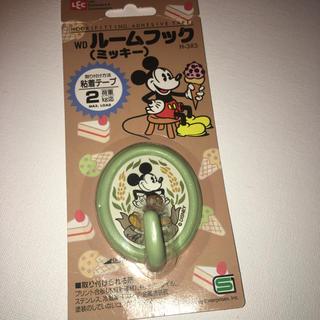 ディズニー(Disney)のディズニー ミッキーマウスのルームフック 粘着タイプのひっかけるやつ未開封(その他)