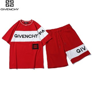 ジバンシィ(GIVENCHY)のGIVENCHY  上下セット 男女兼用 100 %綿  Tシャツ(Tシャツ/カットソー(半袖/袖なし))