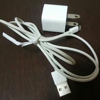 アイフォーン(iPhone)のApple社 純正 充電器(バッテリー/充電器)