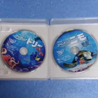ディズニー(Disney)の【美品】ディズニー ファインディング・ニモ&ドリー DVDセット(キッズ/ファミリー)