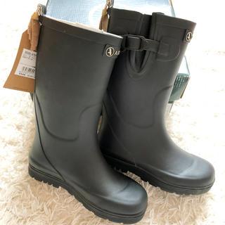 エーグル(AIGLE)のAIGLE レインブーツ 長靴 28 キッズ 子供用 WOODYPOP. 紺(長靴/レインシューズ)