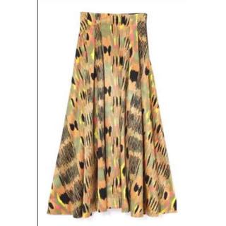 ローズバッド(ROSE BUD)のmici レオパードスカート(ロングスカート)