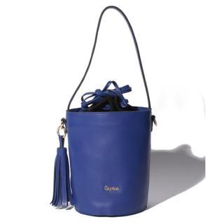 スリーフォータイム(ThreeFourTime)の新品♡定価10,584円 牛革 2way bag バケツ型 ブルー or ピンク(ショルダーバッグ)