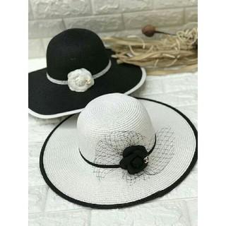 シャネル(CHANEL)のCHANEL 麦わら帽子 帽子 2色選択可能です(麦わら帽子/ストローハット)