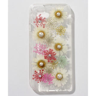 ThreeFourTime - 新品♡押し花iPhone6 iPhoneケース イエロー系