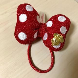 ディズニー(Disney)の【Disney】ミニーちゃん リボンヘアゴム(ヘアゴム/シュシュ)