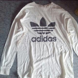 アディダス(adidas)のアディダス adidas ロンTシャツ 汚れあり(Tシャツ/カットソー(七分/長袖))
