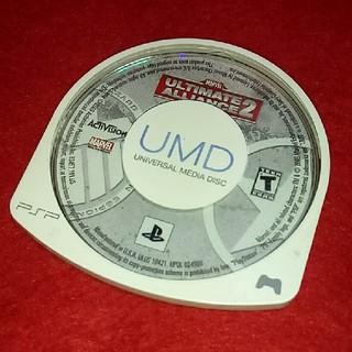 プレイステーションポータブル(PlayStation Portable)のPSP 海外盤 マーベルアルティメットアライアンス 2(携帯用ゲームソフト)