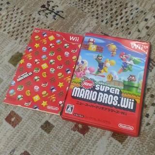 ウィー(Wii)のWii Newスーパーマリオブラザーズ(家庭用ゲームソフト)