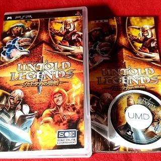 プレイステーションポータブル(PlayStation Portable)のPSP アントールド レジェンド ~ウナタカの勇剣~(携帯用ゲームソフト)
