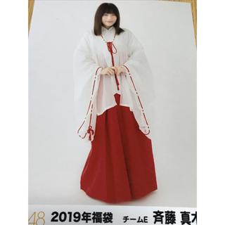 エスケーイーフォーティーエイト(SKE48)の2019年福袋の生写真(アイドルグッズ)