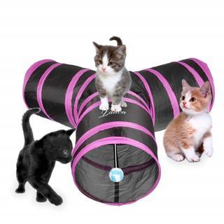 超人気!トンネル ペット用 おもちゃ 折り畳み(猫)