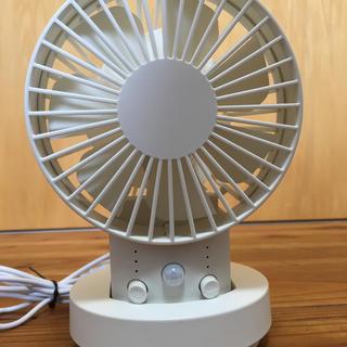 イワツ商事 MOSEROSE モセロセ USB多機能ミニ扇風機 ディスクファン(扇風機)
