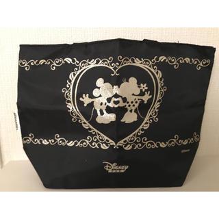 ディズニー(Disney)の【新品、未使用】ディズニーファン ミッキーミニーリバーシブルミニトートバッグ (トートバッグ)