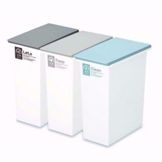 【新品送料無料】ネオカラー分別 ゴミ箱 20L 3個セット ¥(ごみ箱)