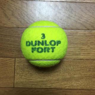ダンロップ(DUNLOP)のダンロップテニスボール 1個(ボール)