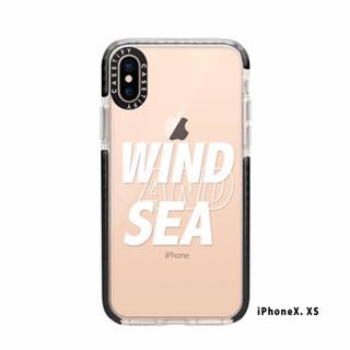 アップル(Apple)のオンライン購入正規品☆wind and sea iPhoneケース 新品(iPhoneケース)