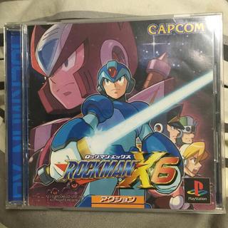 プレイステーション(PlayStation)のロックマンX6 PS(家庭用ゲームソフト)