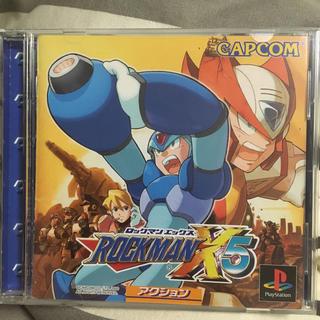 プレイステーション(PlayStation)のロックマンX5 PS(家庭用ゲームソフト)