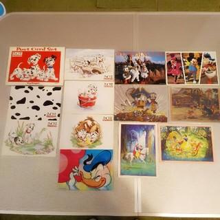 ディズニー(Disney)のディズニー ポストカード 昭和 レトロ レア  12枚セット(切手/官製はがき)