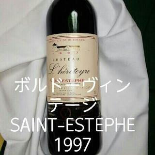 ヴィンテージワイン SAINT-ESTEPHE 1997 展示用(ワイン)