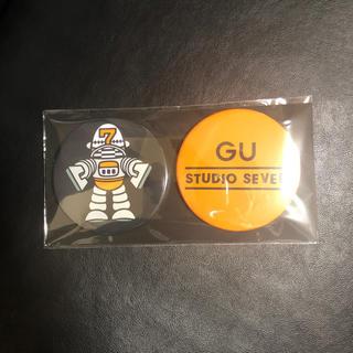ジーユー(GU)のGU STUDIO SEVEN 缶バッジ(その他)