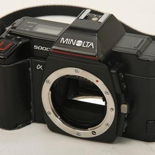コニカミノルタ(KONICA MINOLTA)の動作確認済 MINOLTA ミノルタ α5000 外装難あり(フィルムカメラ)