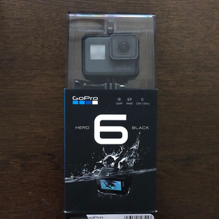 ゴープロ(GoPro)のGoPro HERO6 BLACK 付属品多数(ビデオカメラ)