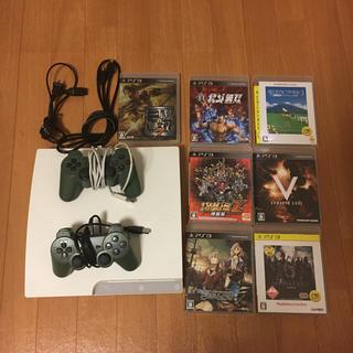 プレイステーション3(PlayStation3)のプレイステーション3  CECH-3000A  ソフト7本付(家庭用ゲーム本体)