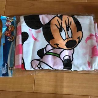 ディズニー(Disney)のミニーバスタオル(タオル/バス用品)