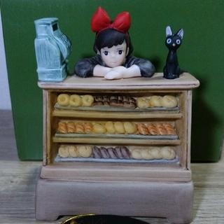 ジブリ - ジブリ作品オルゴール 魔女の宅急便 キキ・店番 ジジ付  ジオラマフィギュア