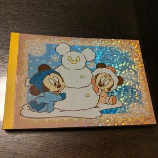 Disney - Baby Mickey Baby Minnie メモ帳 ディズニー
