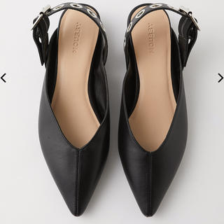 moussy - MOUSSY POINTED フラットシューズ