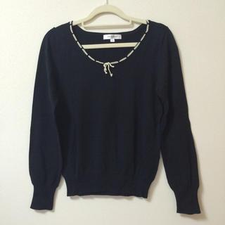 エムケークランプリュス(MK KLEIN+)のMKKLEIN+  薄手綿セーター(ニット/セーター)