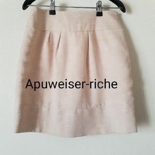 アプワイザーリッシェ(Apuweiser-riche)のApuweiser-riche ミニスカート(ミニスカート)