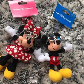 ディズニー(Disney)の新品セール!ミニミニキーホルダー♡(キーホルダー)