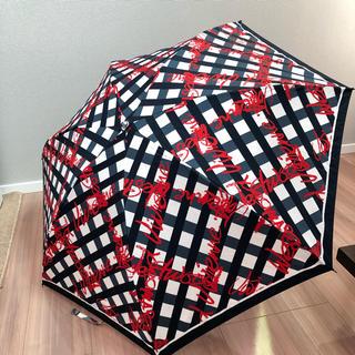 ヴィヴィアンウエストウッド(Vivienne Westwood)のヴィヴィアンウエストウッド 折り畳み傘 Vivienne チェック(傘)