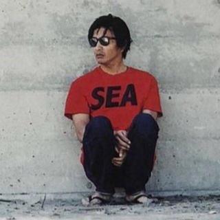 シュプリーム(Supreme)のwind and sea  キムタク 着用 完売品(Tシャツ/カットソー(半袖/袖なし))