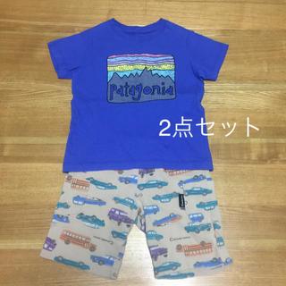 パタゴニア(patagonia)のパタゴニアTシャツとハーフパンツセット(Tシャツ/カットソー)