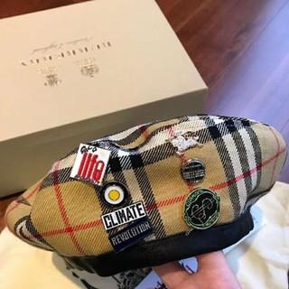 バーバリー(BURBERRY)の BURBERRY × Vivienne Westwood ベレー帽(ハンチング/ベレー帽)