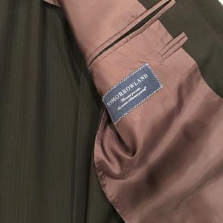 トゥモローランド(TOMORROWLAND)の美品 テーラードジャケット スーツ 上着(スーツジャケット)