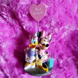 ディズニー(Disney)の【ディズニー】ミニー&デイジー メモスタンド♡(キャラクターグッズ)