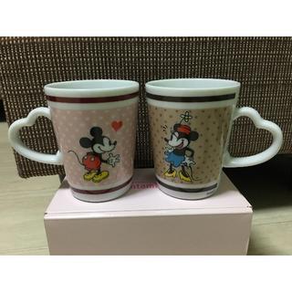ディズニー(Disney)の★非売品!ペアマグカップ ミッキー&ミニー★(グラス/カップ)