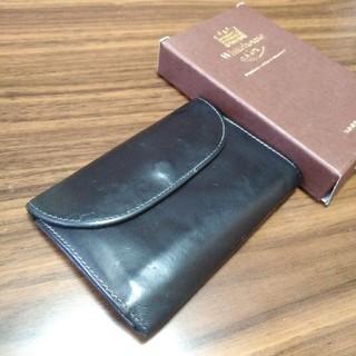 ホワイトハウスコックス(WHITEHOUSE COX)のホワイトハウスコックス三つ折り財布 UKブライドルレザー(折り財布)