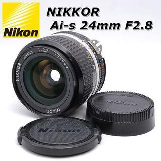 ニコン(Nikon)の☆人気の単焦点☆ Nikon ニコン Ai-s NIKKOR 24mm F2.8(レンズ(単焦点))