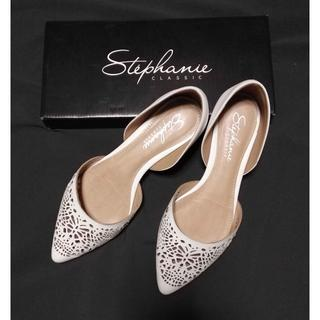 ステファニエ(Stephanie)の◆値下げ◆Stephanie Spic&Span カットワークパンプス(ハイヒール/パンプス)